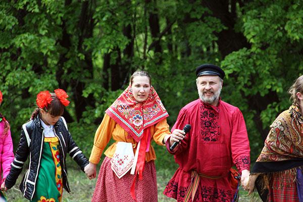 Троицкие гулянья в Татарском, июнь 2017