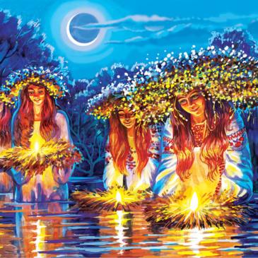 Легенда о славянском боге Купало и его сестре Костроме